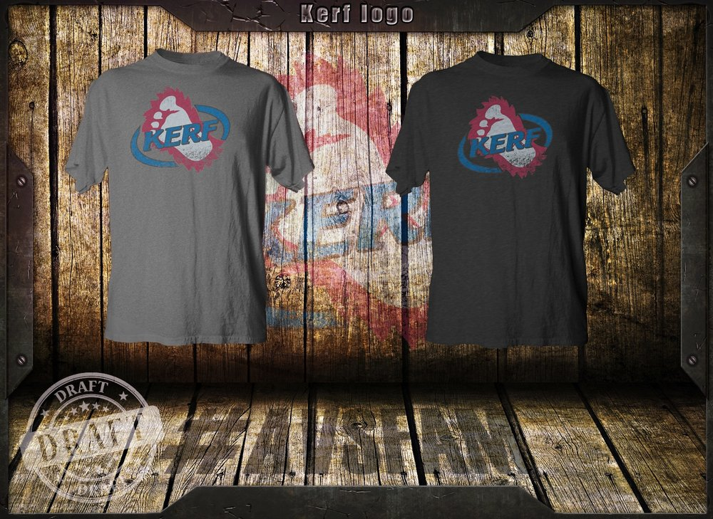 Note, we can never make these shirts with the Avs old foot logo. We did these to show fans what their ideas would look like on the shirt. Because you are awesome for helping us out.