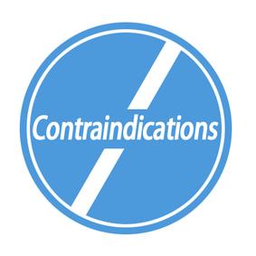 contraindications vis à vis day med spa