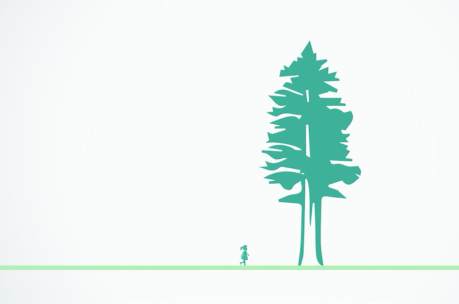 MOTION GRAPHICS Save the Redwoods PSA