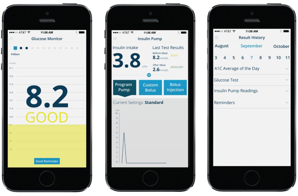 UI/UX  Child's Diabetes App