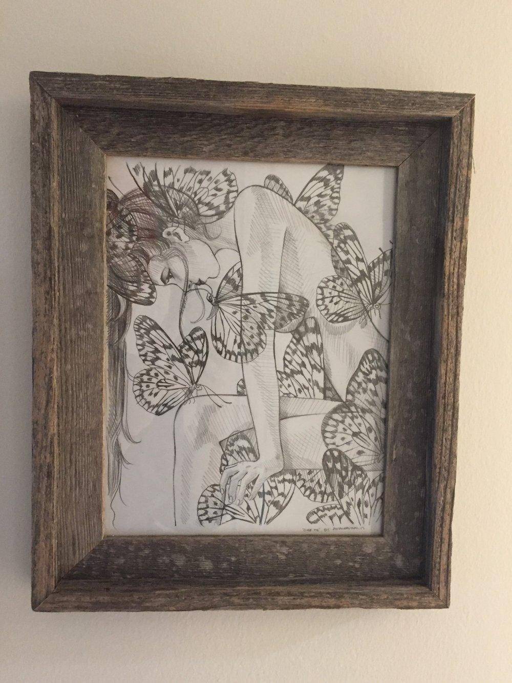 Over Me Sketch by  Amanda Lynn