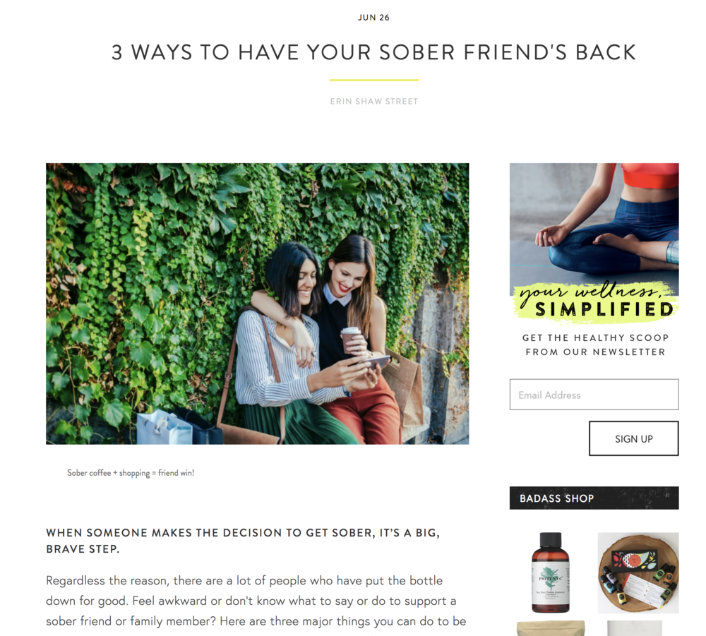 3 Ways to Have Your Sober Friend's Back