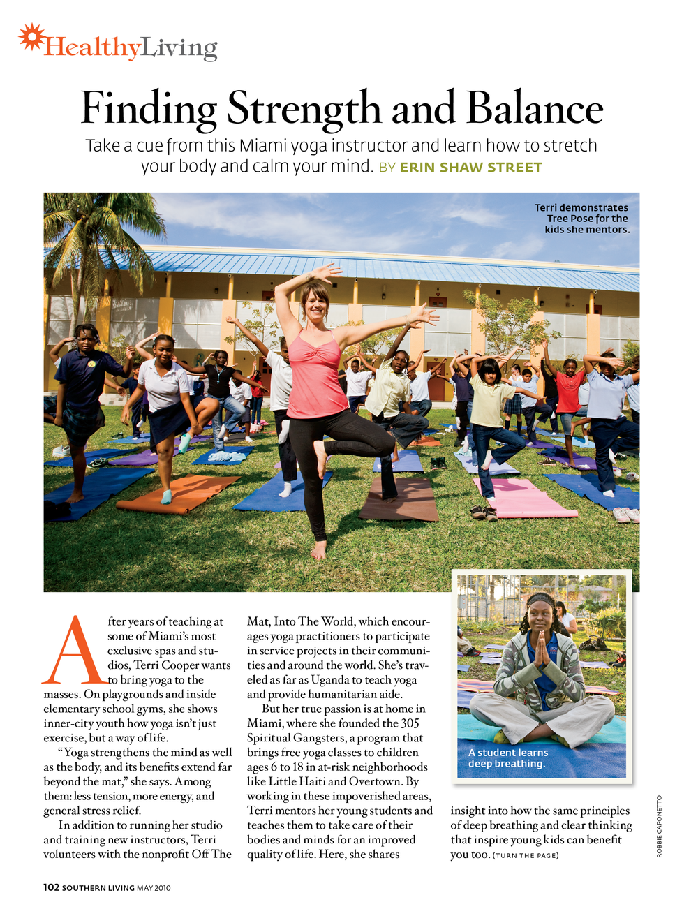 Healthy Living: Finding Strength & Balance