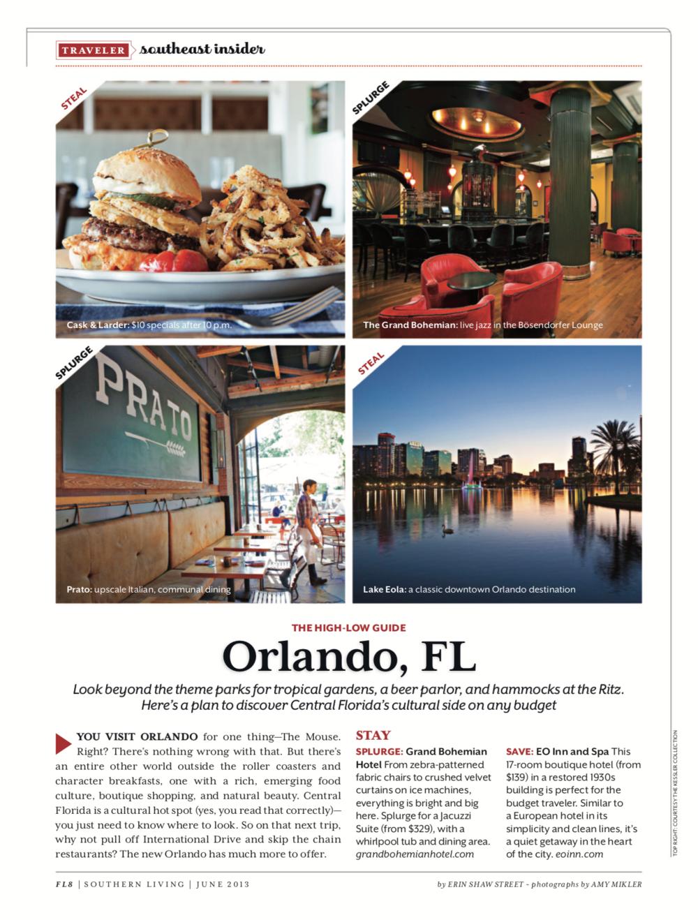 The High-Low Guide: Orlando, Florida