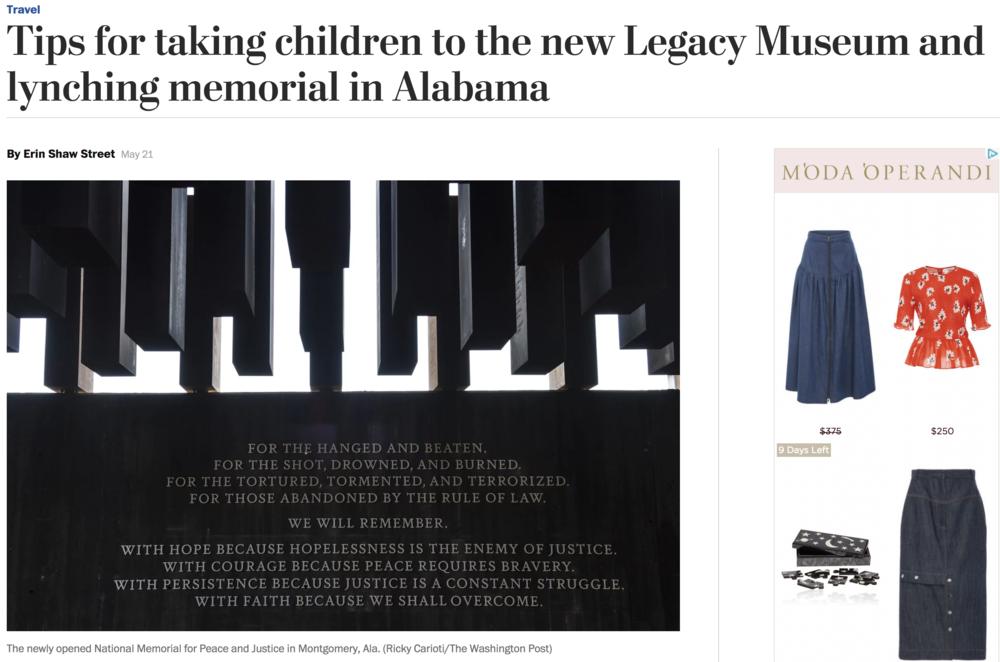 Washington Post - Legacy Museum