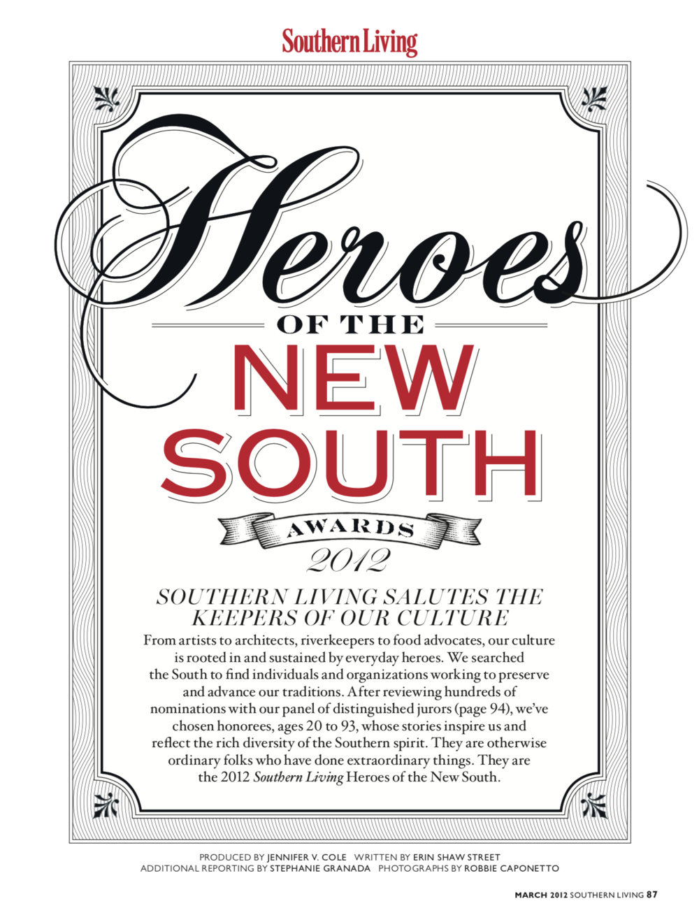 Heroes of the New South