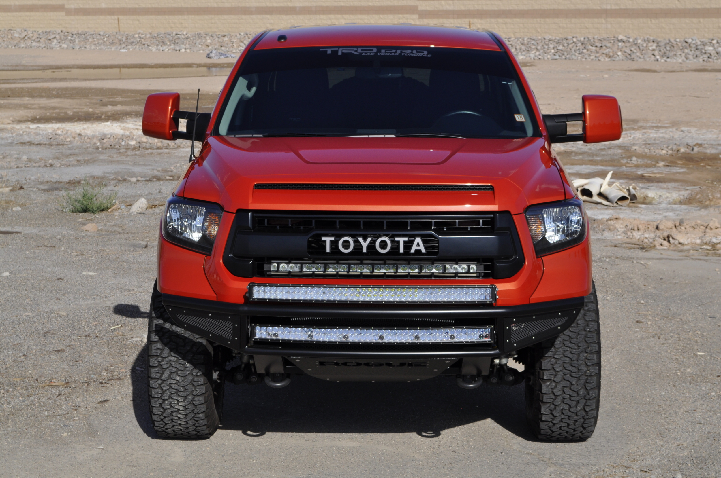 THROTTLE Front Bumper 2014 Toyota Tundra 91 05 MS