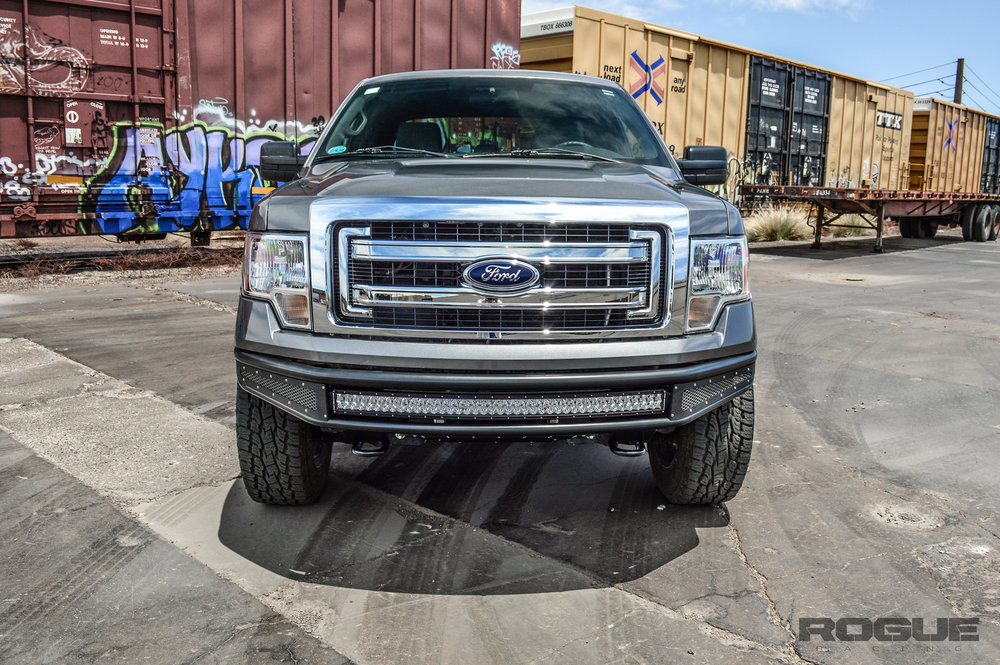 2009 2014 ford f 150 rebel front bumper rogue racing Ford Bumpers 2011 f150 prerunner front bumper