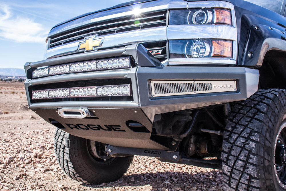 2015 Chevy 2500 3500 Enforcer Front Winch Bumper