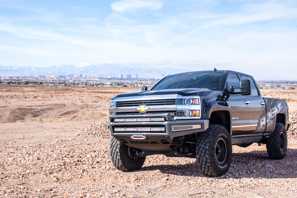 Toyota Tundra Bumper 2015+ Chevy 2500 / 3500 ENFORCER Front Winch Bumper ...