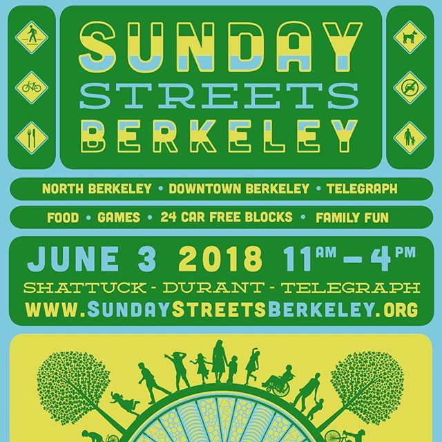 We will be open from 12-5pm for this awesome #Berkeley event! Check us out for Happy Hour the entire time. Live music on our block, plus so much more.
