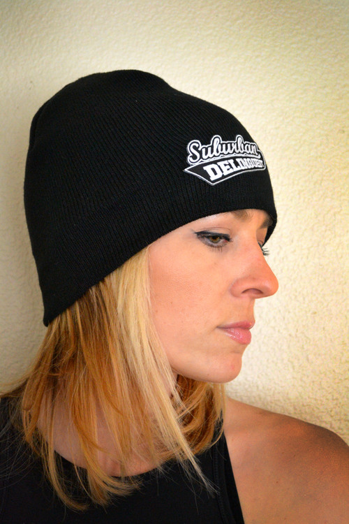 c30ae4f04d3 SD Tight Knit Beanie Hat — Suburban Delinquent Motovlog Motorcycle ...