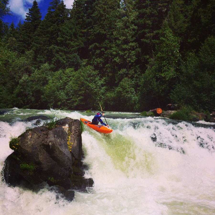 Husum Falls, Middle White Salmon River