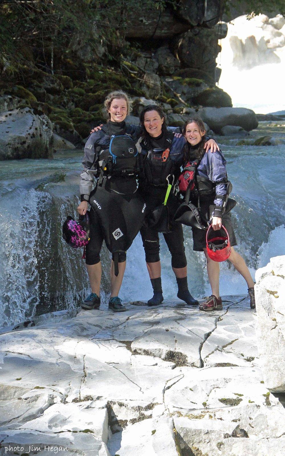 Ally, Tammy, and I