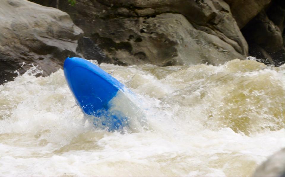 Das Boof, Quijos River