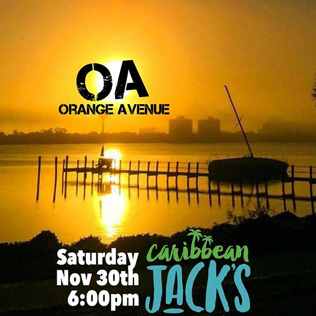 Friday at 6, we're at @caribbeanjacks in #daytonabeach for the first time.