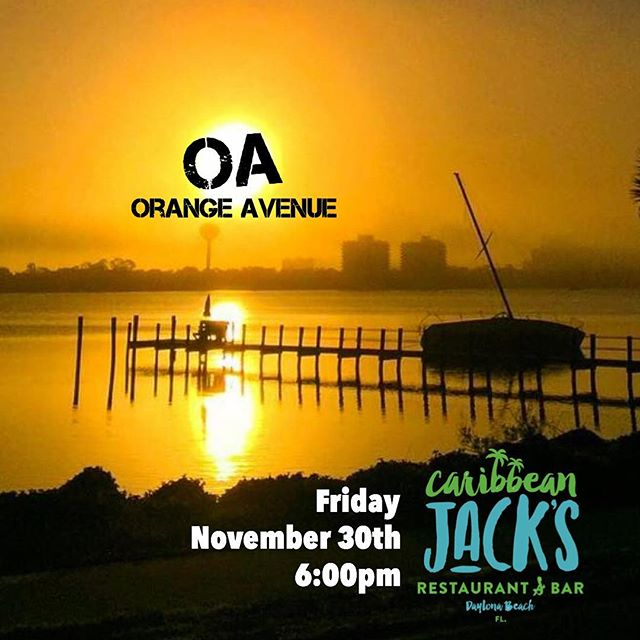 Tomorrow at 6!  @caribbeanjacks in #daytonabeach