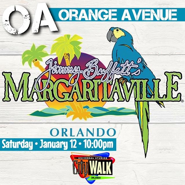 Saturday at 10:00 in #Orlando! @margaritaville at @citywalkorlandofl