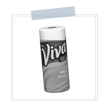 Viva Brand Paper Towels   Never let your lashes air dry after getting them wet. Gently pat them dry with a VIVA brand paper towel to remove excess moisture. Why Viva? They're super soft, absorbent and don't leave cotton fibers behind.    BUY