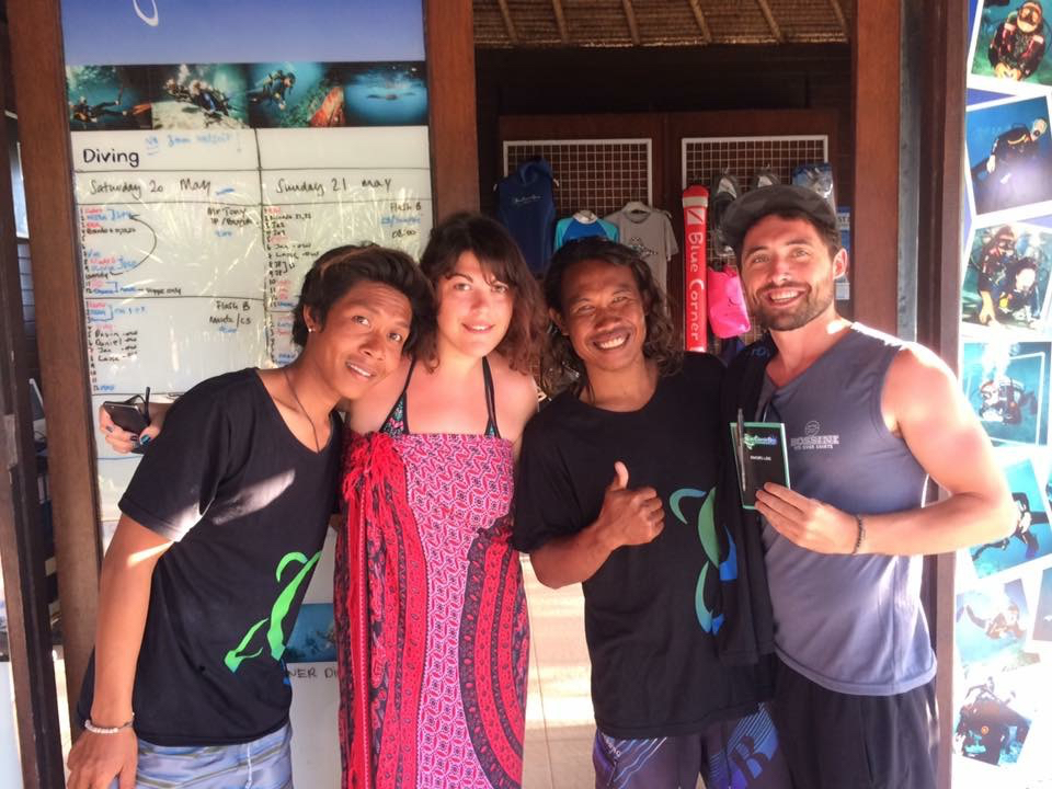 My FIRST PADI STUDENTS