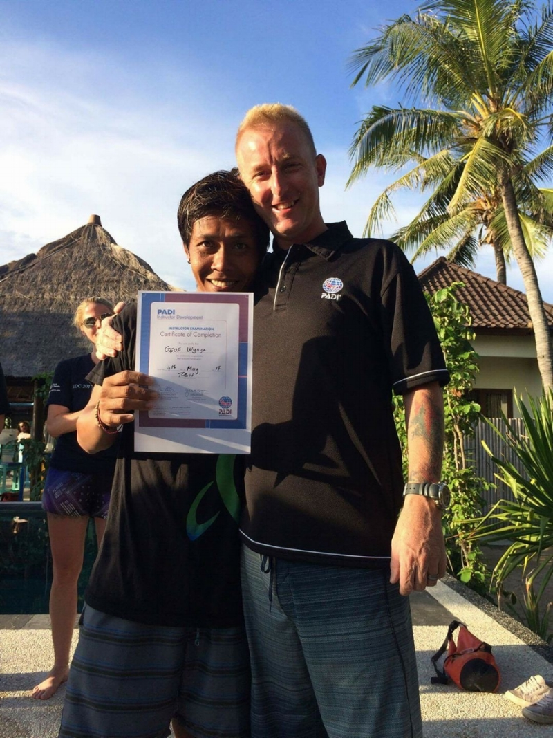100% PASSED THE PADI IE WITH TOSH - EXAMINER