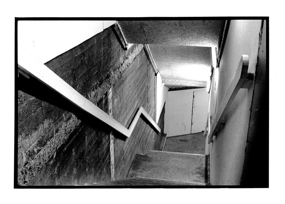 Escalier, Bruxelles 2012 24x36 cm