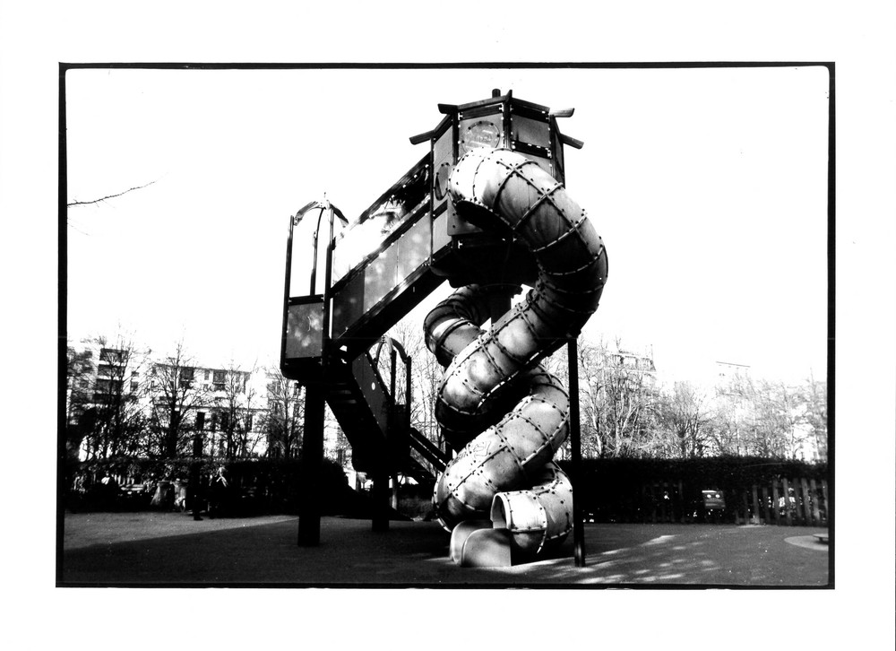 Toboggan, Paris 2012 24x36 cm