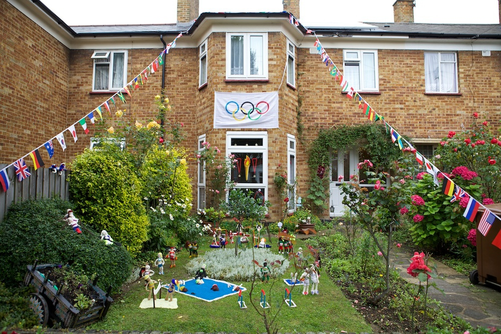 Olympic celebration – Walthamstow, 2012