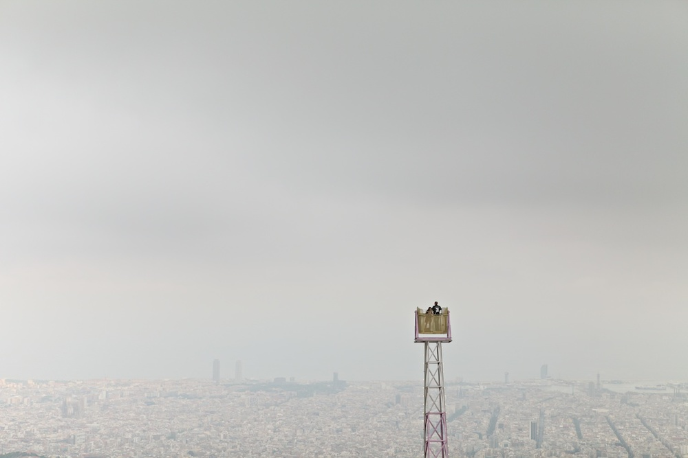 A view from Tibidabo – Barcelona, 2012