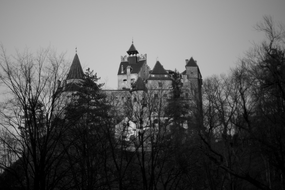 Bram Stoker, Dracula, Bran Castle, Transylvania. Photo from Rosa van Wyk, On the Road. European road trip from Barcelona to Transylvania 2014.