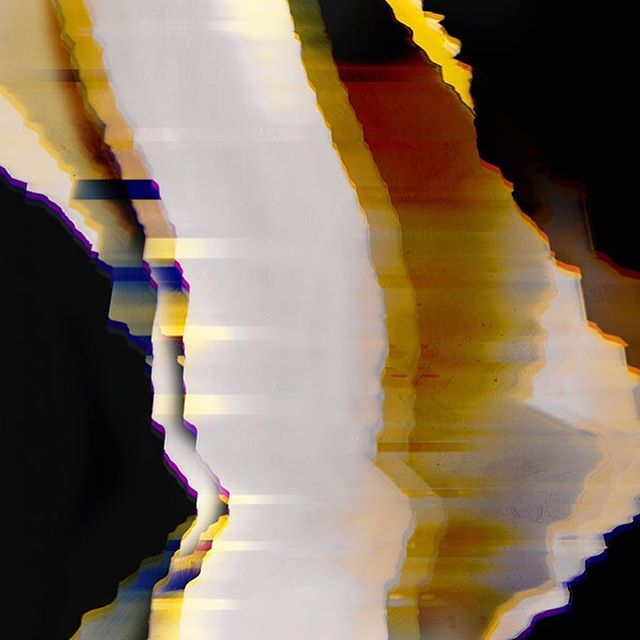 We love these bold, atmospheric digital abstracts by @katie.todaro, created by scanning blank CDs in motion. Swipe for more!