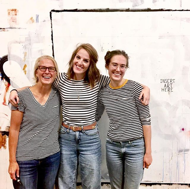 (unintentional) stripes brigade // happy Friday everyone!