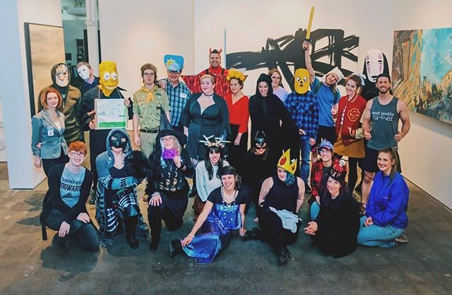 Happy Halloween!! From our art family to yours 👻