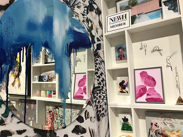 We love representing our amazing artists at @bdny_fair!