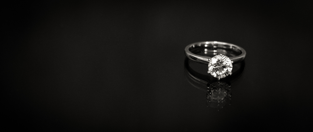 Diamond Solitaire Engagement Ring Dallas
