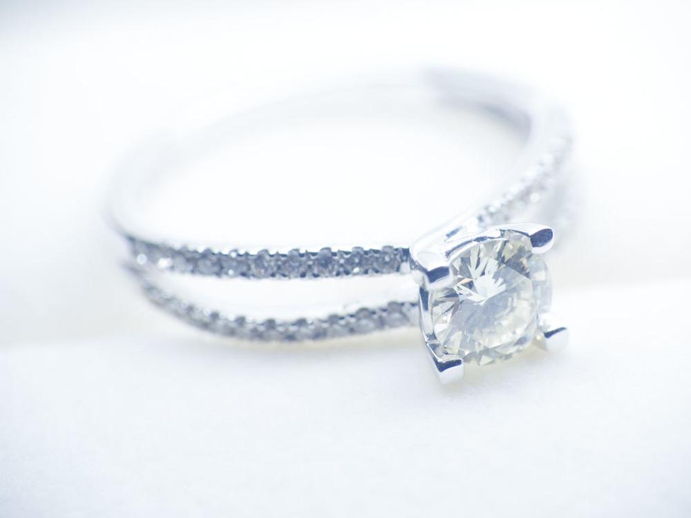Dual Band Diamond Solitaire Dallas