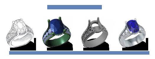 The Making of a Custom Ring Design Motek Diamonds by IDC