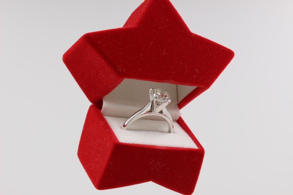 Christmas Ornament Engagement Gift Motek Diamonds Dallas TX.JPG