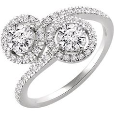 two stone diamond engagement ring motek diamonds dallas tx.jpg