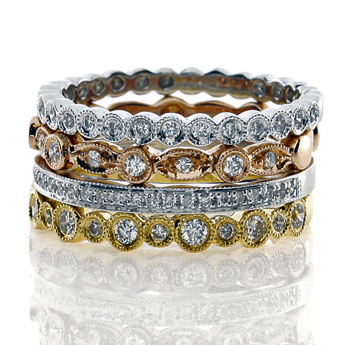rings metal and mismatched mixed engagement band ring wedding set regret weddingbee