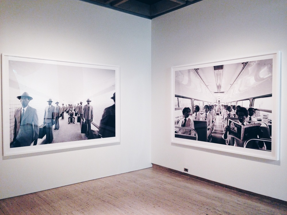 Installation view of works from Michael Cook's  Majority Rule  (2014), Art Gallery of New South Wales, Sydney, as part of the 19th Biennale of Sydney:  You Imagine What You Desire . Photo: Pedro de Almeida.