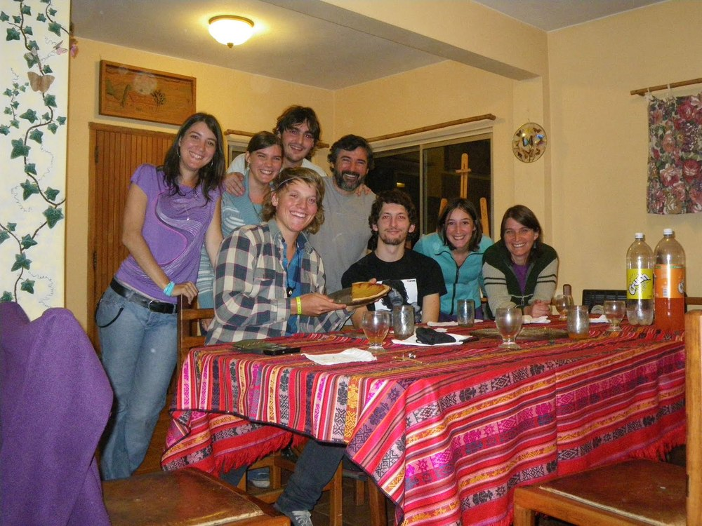Big dinner at the house of Karens' family, Hurlingham, Buenos Aires