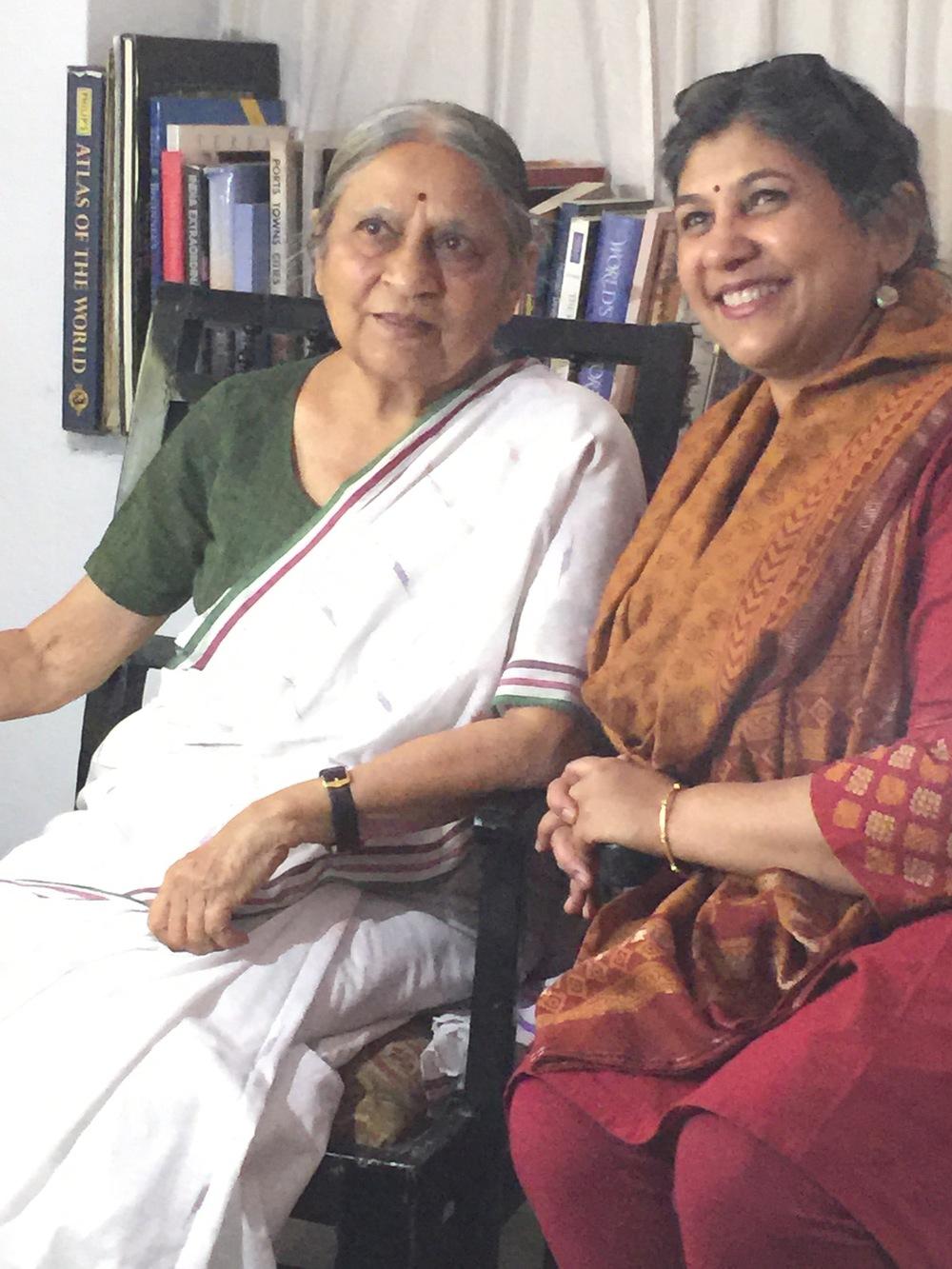 Ela Bhatt, Rekha Puri - March 2015 #LINEed