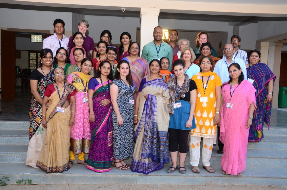 #LINEed Team with Colleagues & Friends, Ahmedabad March 2015