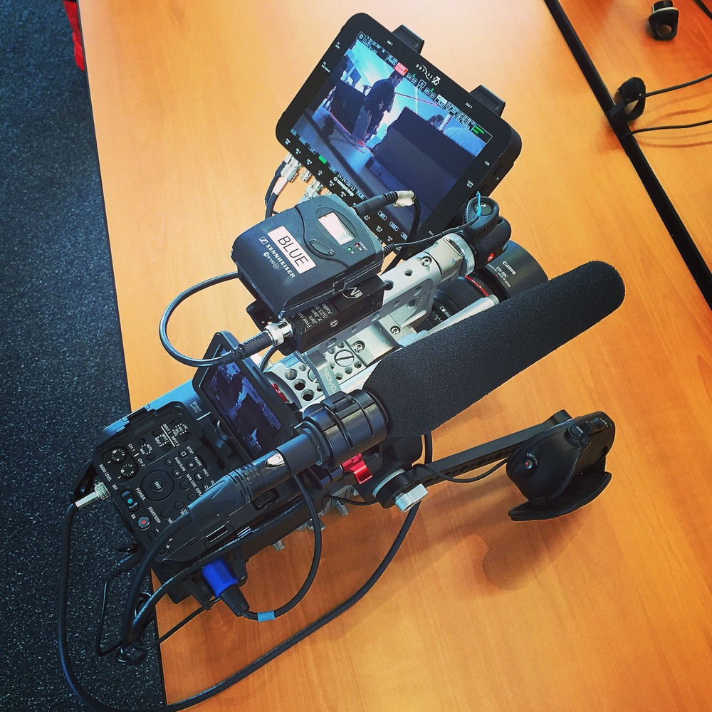 Sony FS700 with Odyssey 7Q Recorder/Monitor