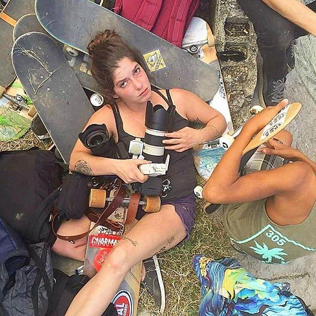 Road Crew Pixie, Street Artist and Amigo Skate Girl @naikipetme  #amigoskategirls  #missbrooklyn #rideordie #tillthewheelsfalloff #skateboard #roaddogs #punkrock #philanthropy #skateboardingisfun #amiga #skateandexplore #cuba #streetculture #thankyouskateboarding #letsgo #cuba