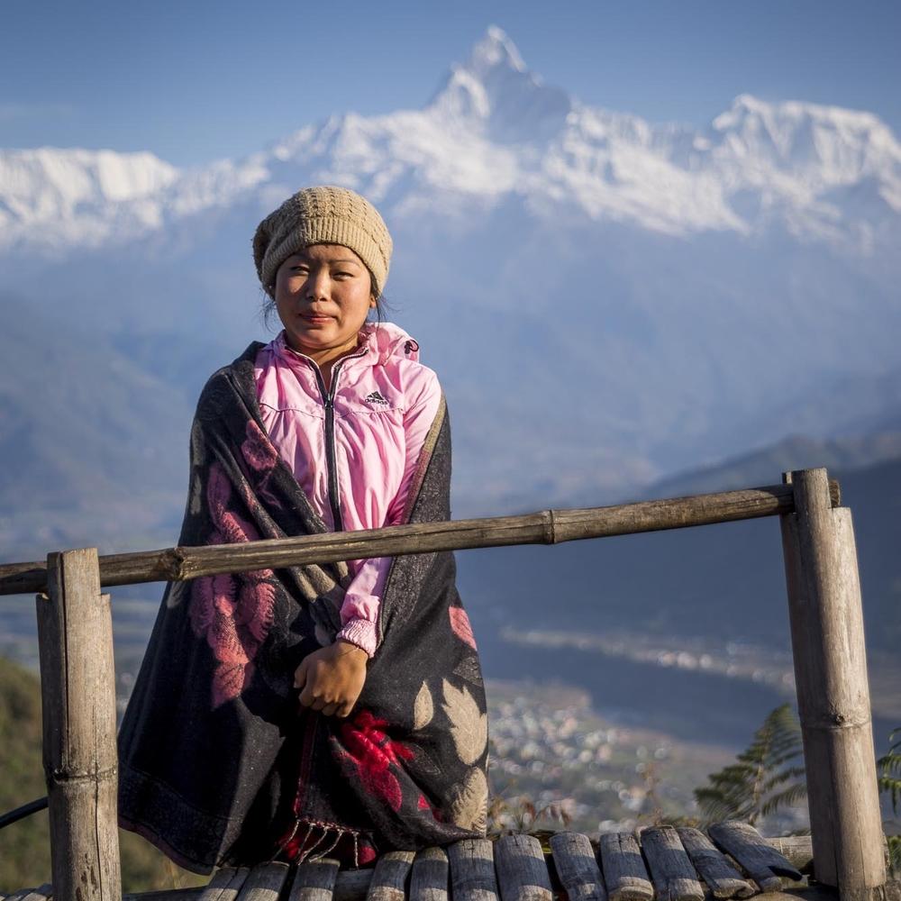 Nepali Woman | Pokhara, Nepal