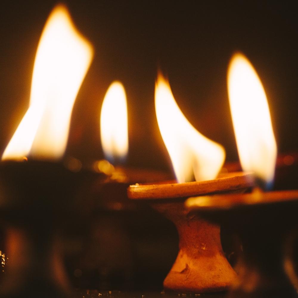Temple Candles | Kathmandu, Nepal