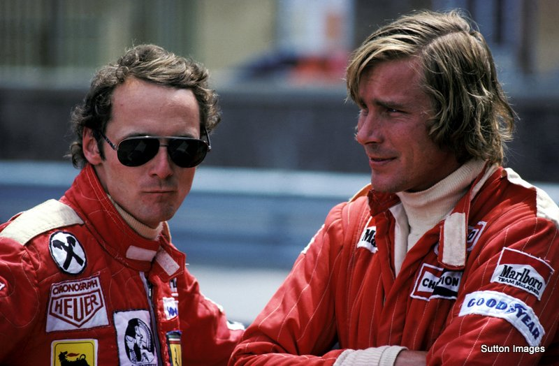 Niki Lauda and James Hunt in one of the most compelling sports stories I've ever known.