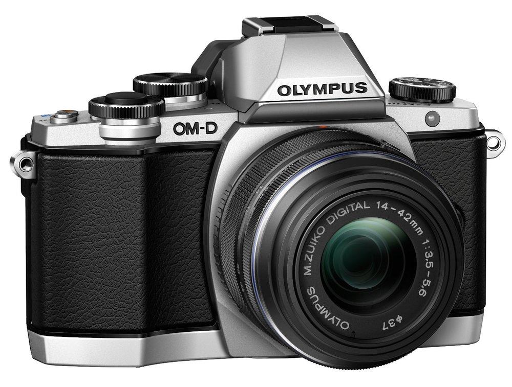 The Olympus OM-D E-M10